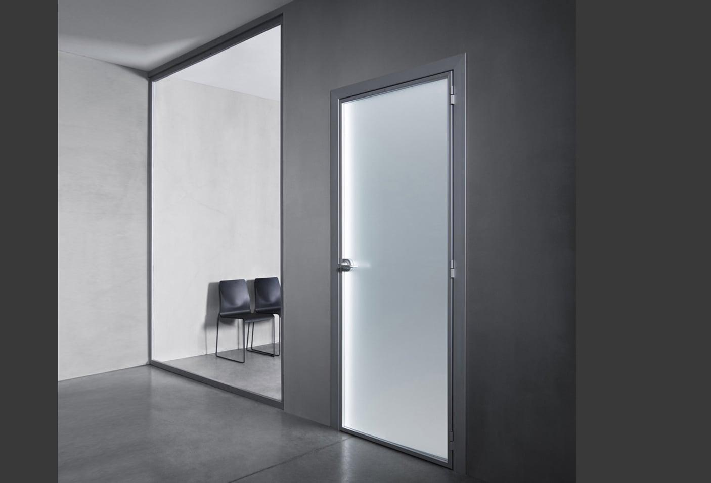 Porte per uffici e spazi di lavoro - Porte in alluminio e ...